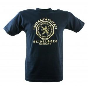 T-Shirt Universitätsstadt bestickt